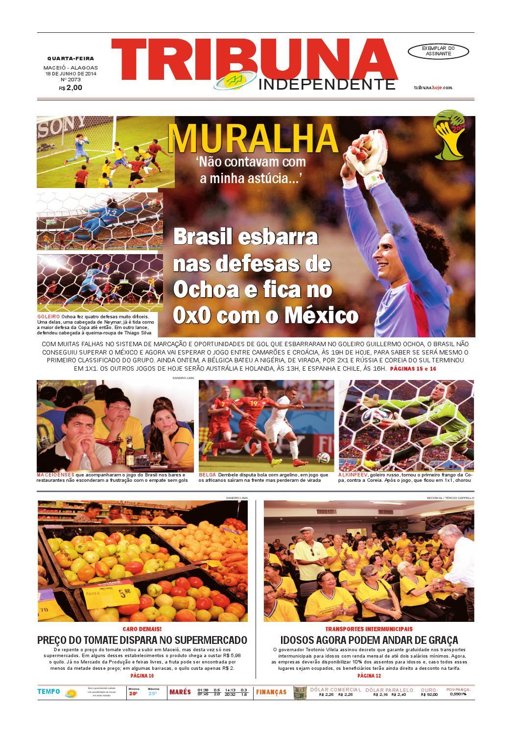 Edição número 2073 - 18 de junho de 2014 by Tribuna Hoje - issuu ffbacf361ab