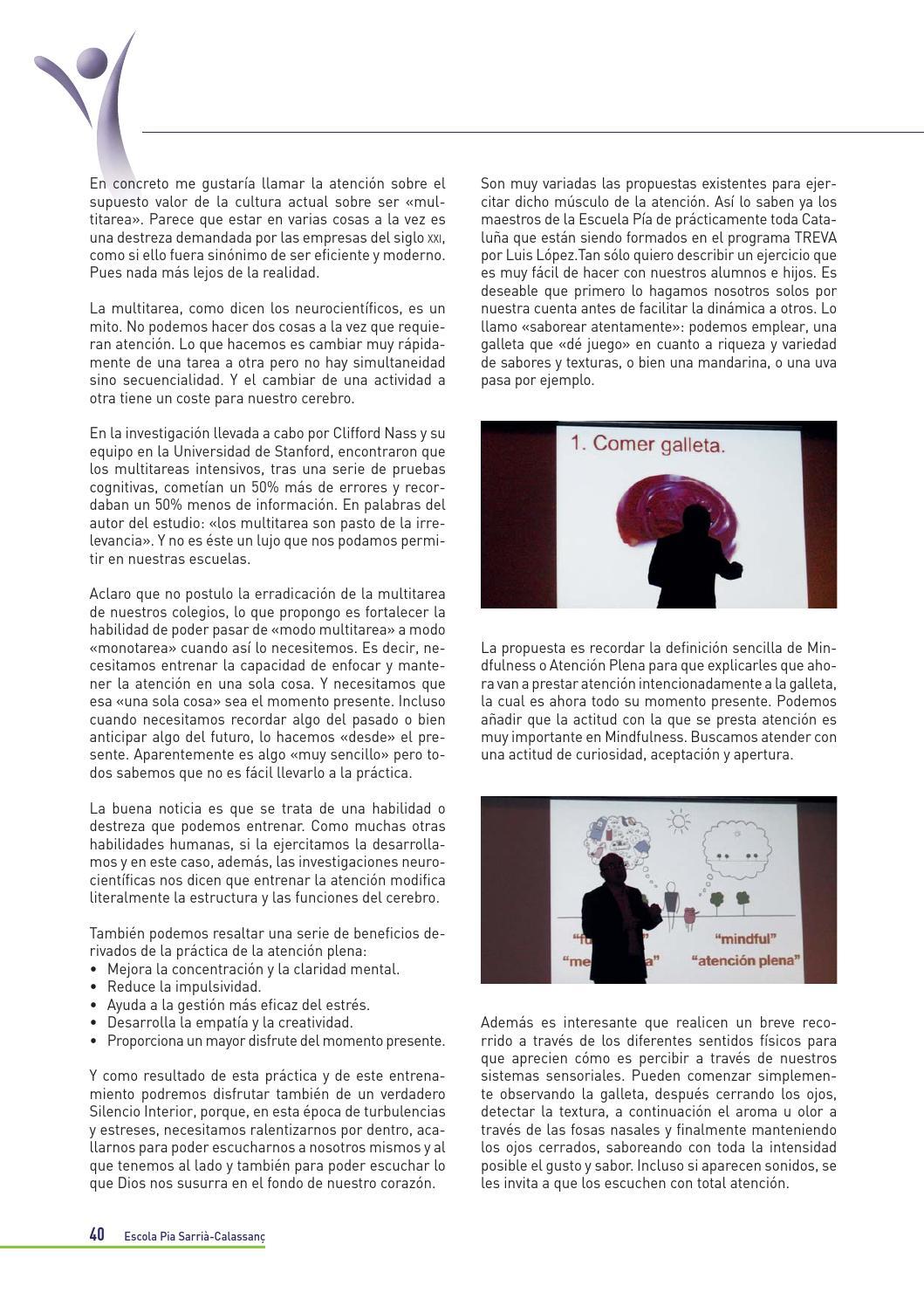 Revista Es Escola Pia Sarria Curs 2013 2014 By Anna Perez
