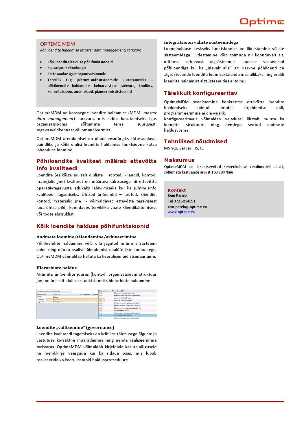74ec6bbaa53 Optimemdm productsheet by Aleksander Parelo - issuu