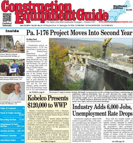 d08c89e5edbc0 Northeast 13 2014 by Construction Equipment Guide - issuu