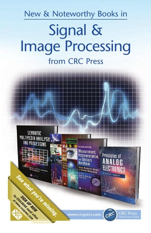Signal image processing by crc press issuu page 1 fandeluxe Image collections