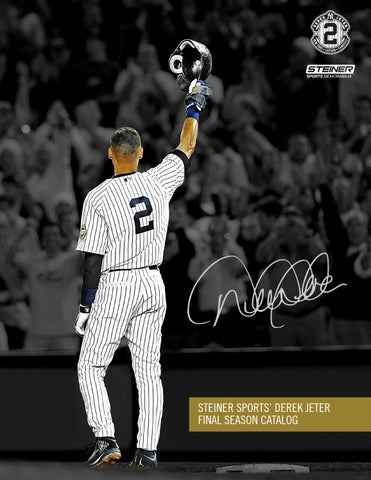 8a60d5a3288 Derek Jeter Final Season Catalog by Steiner Sports - issuu