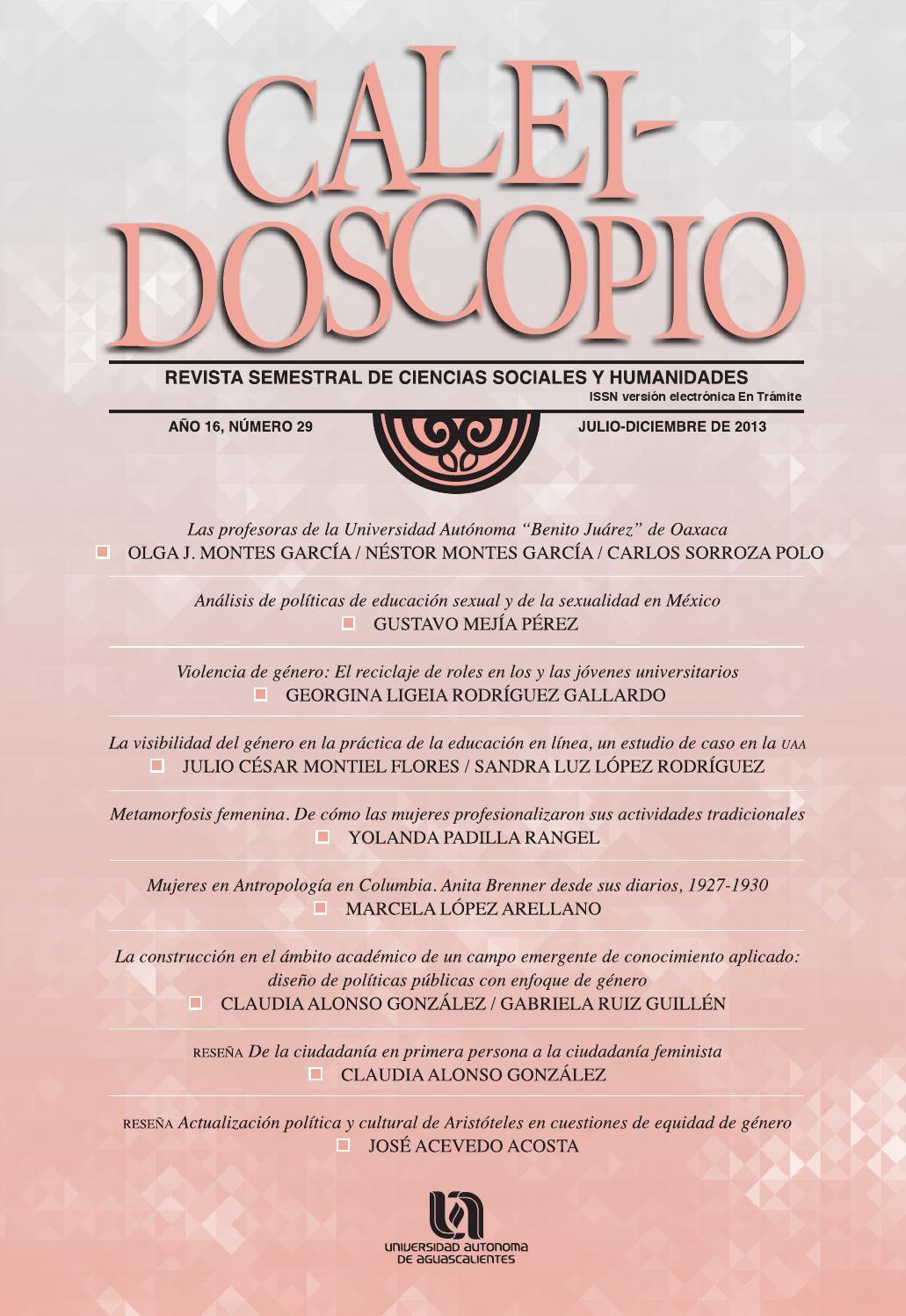 Caleidoscopio 29 by Universidad Autónoma de Aguascalientes ...