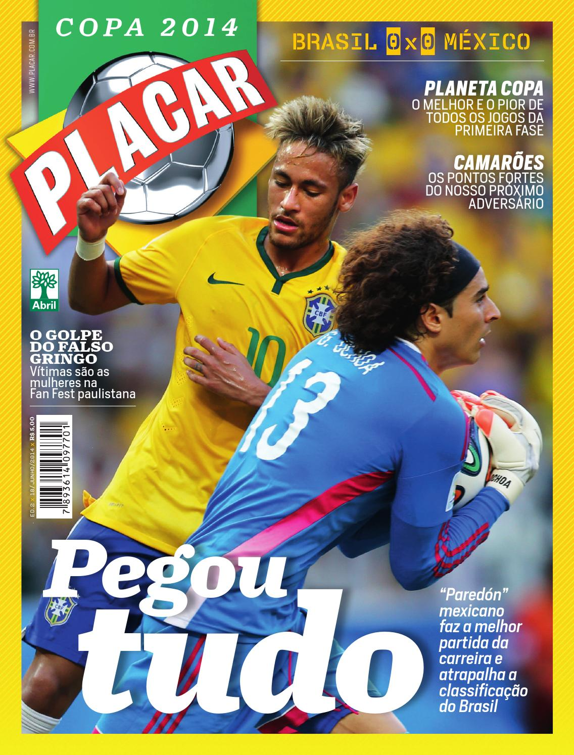 Revista Placar - Pós jogo 2 - Copa 2014 by Revista Placar - issuu 0673a9d893c44