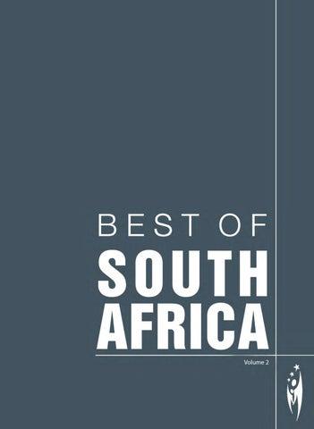 efdbdb51b45 BEST OF SOUTH AFRICA - Volume 2 by Sven Boermeester - issuu