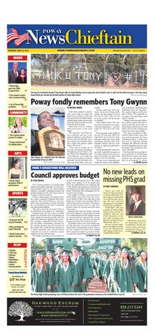 Poway news chieftain 06 12 14 by MainStreet Media - issuu
