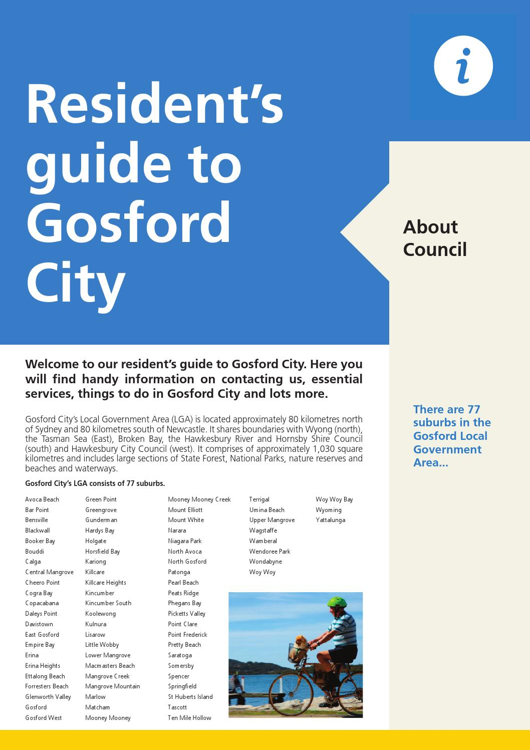 Residents Guide to Gosford by Central Coast Council - issuu