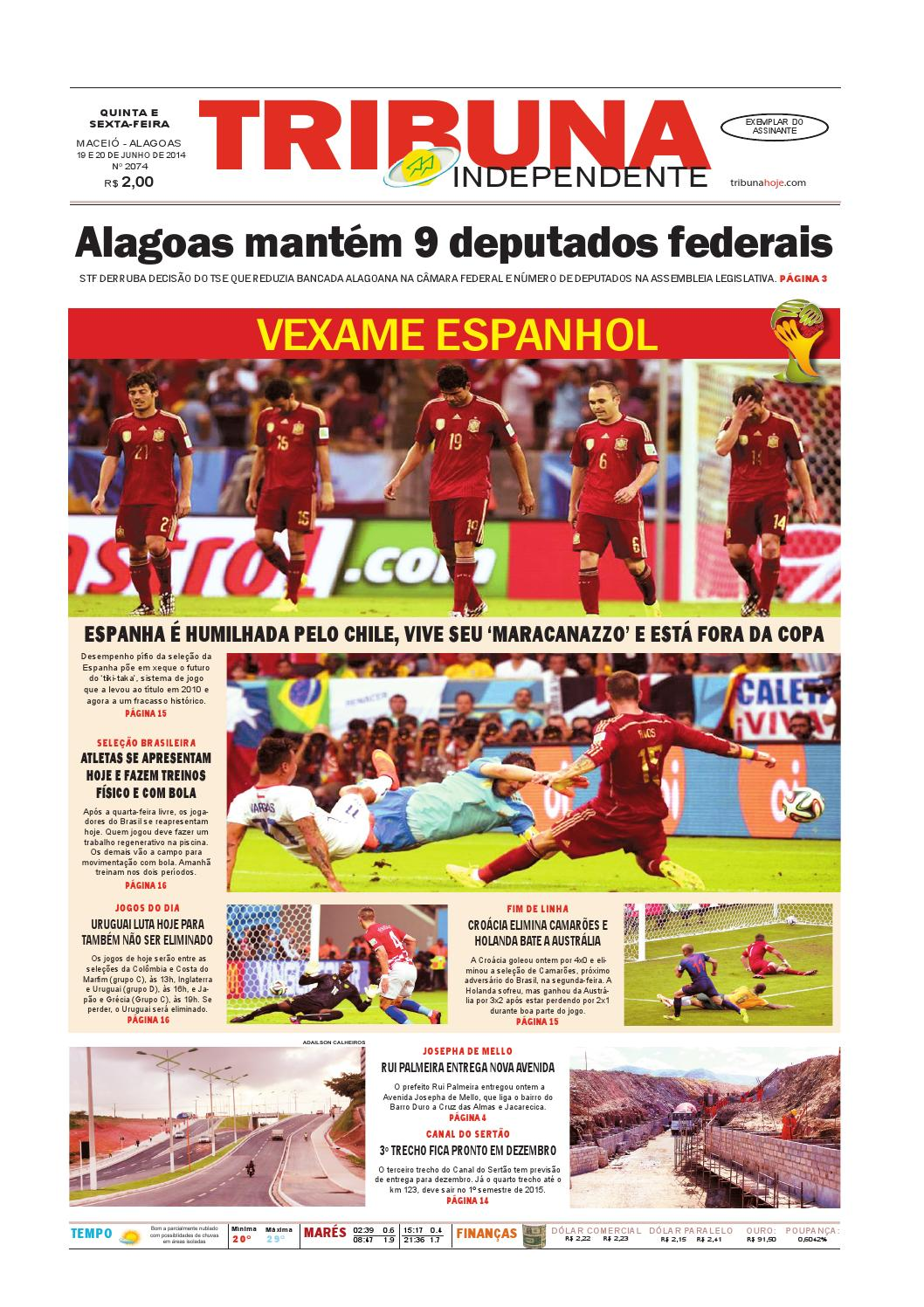 Edição número 2074 - 19 e 20 de junho de 2014 by Tribuna Hoje - issuu c5db5b4c269ee