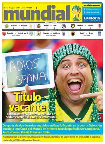 Diario La Hora Loja 19 de Junio 2014 by Diario La Hora Ecuador - issuu