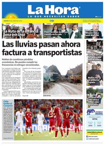 Diario La Hora Loja 19 de Junio 2014 by Diario La Hora Ecuador - issuu 5199f0f3528be