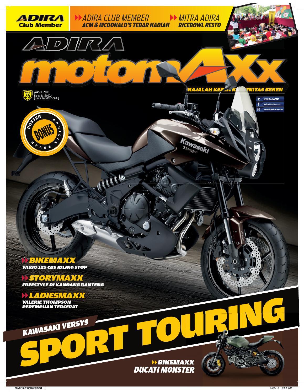 Motomaxx 04 2013 By Adira Member Issuu All New Cb 150r Streetfire Wild Black Depok