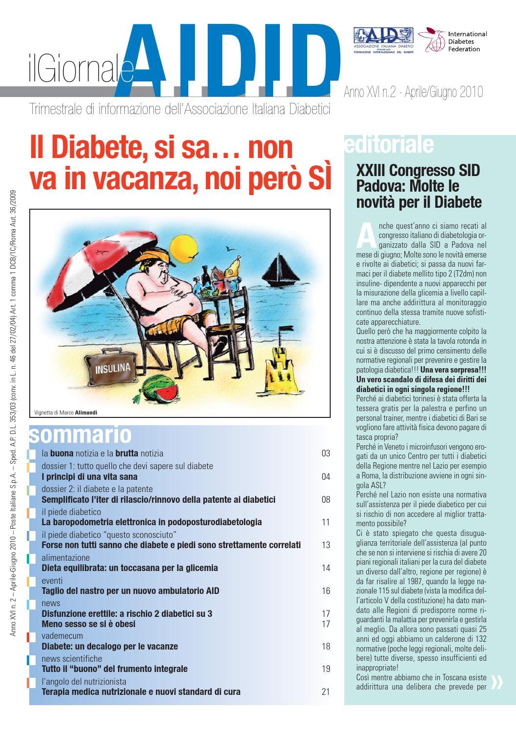 disfunzione erettile dovuta a diabete di tipo 2
