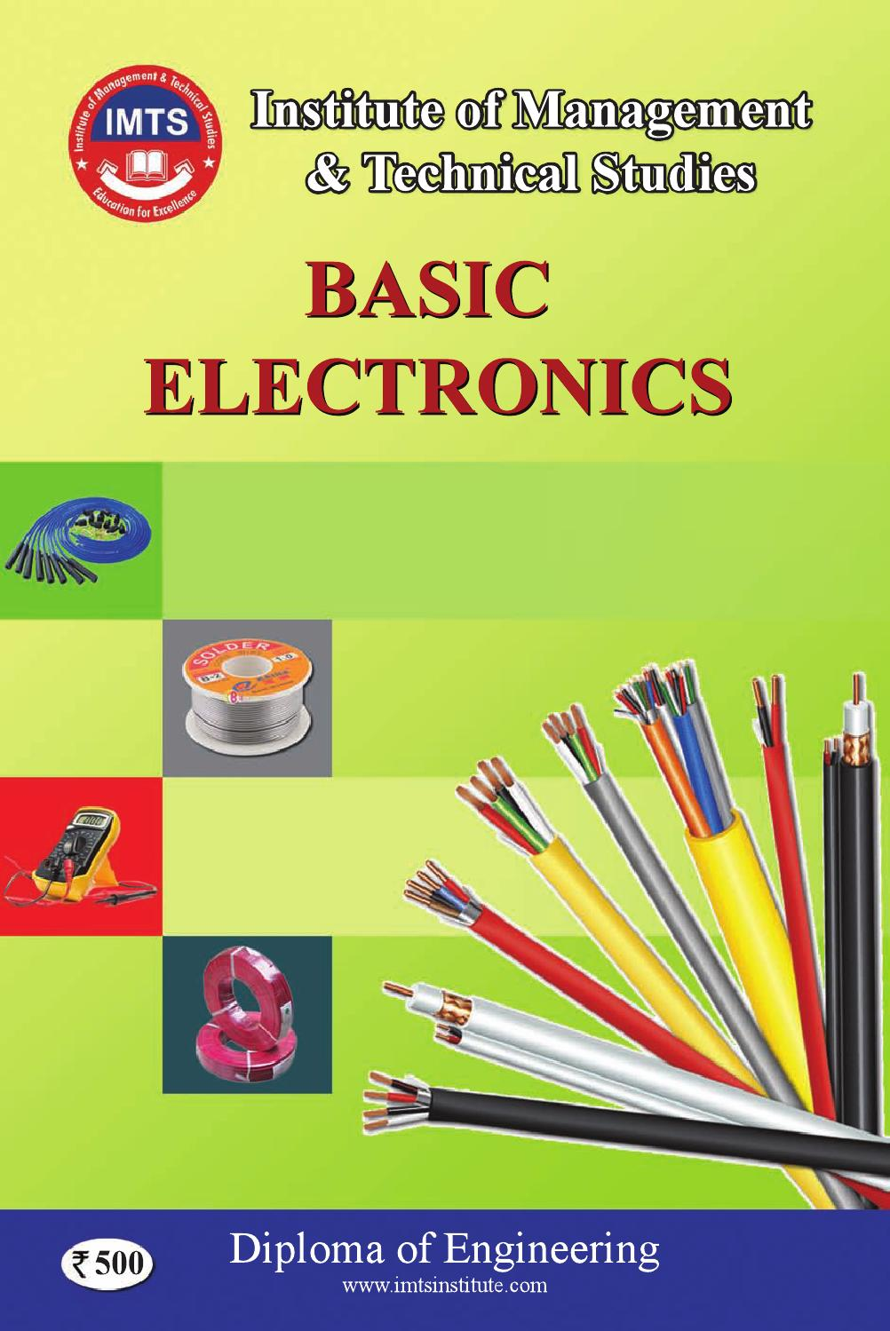 Imts Electrical Eng Basic Electronics By Institute Issuu Rc Snubber Circuits Design Usage Basics