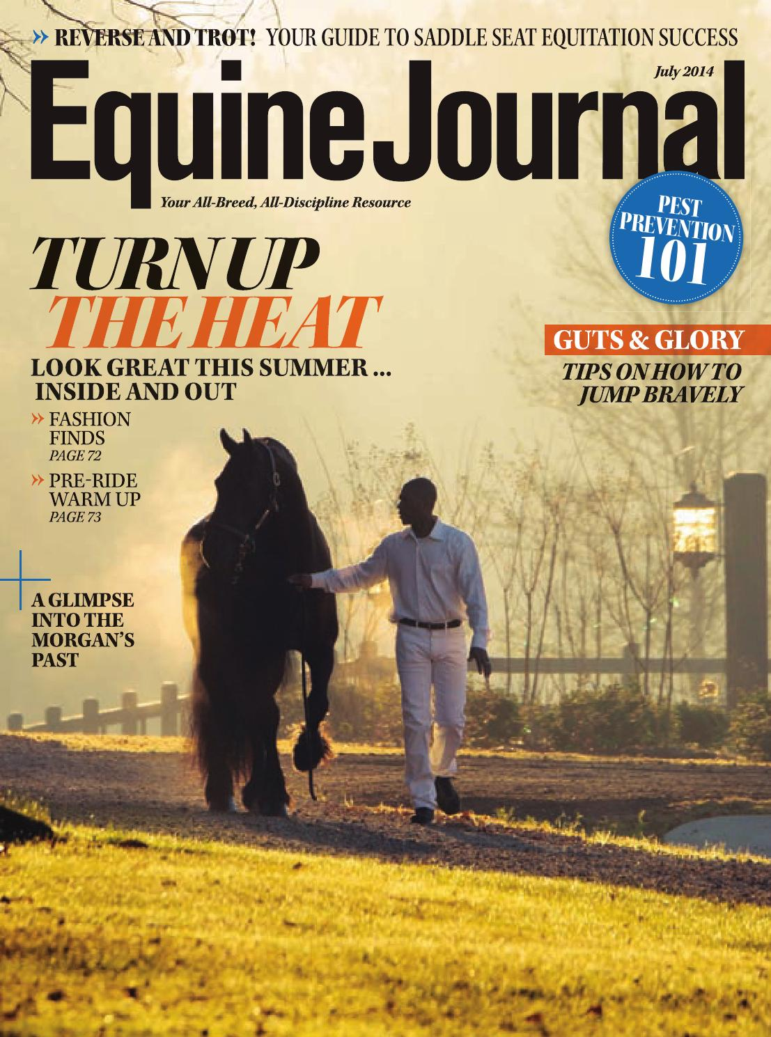 Equine Journal July 2014 By Issuu Handle Gagang Tap 3 Mm 12