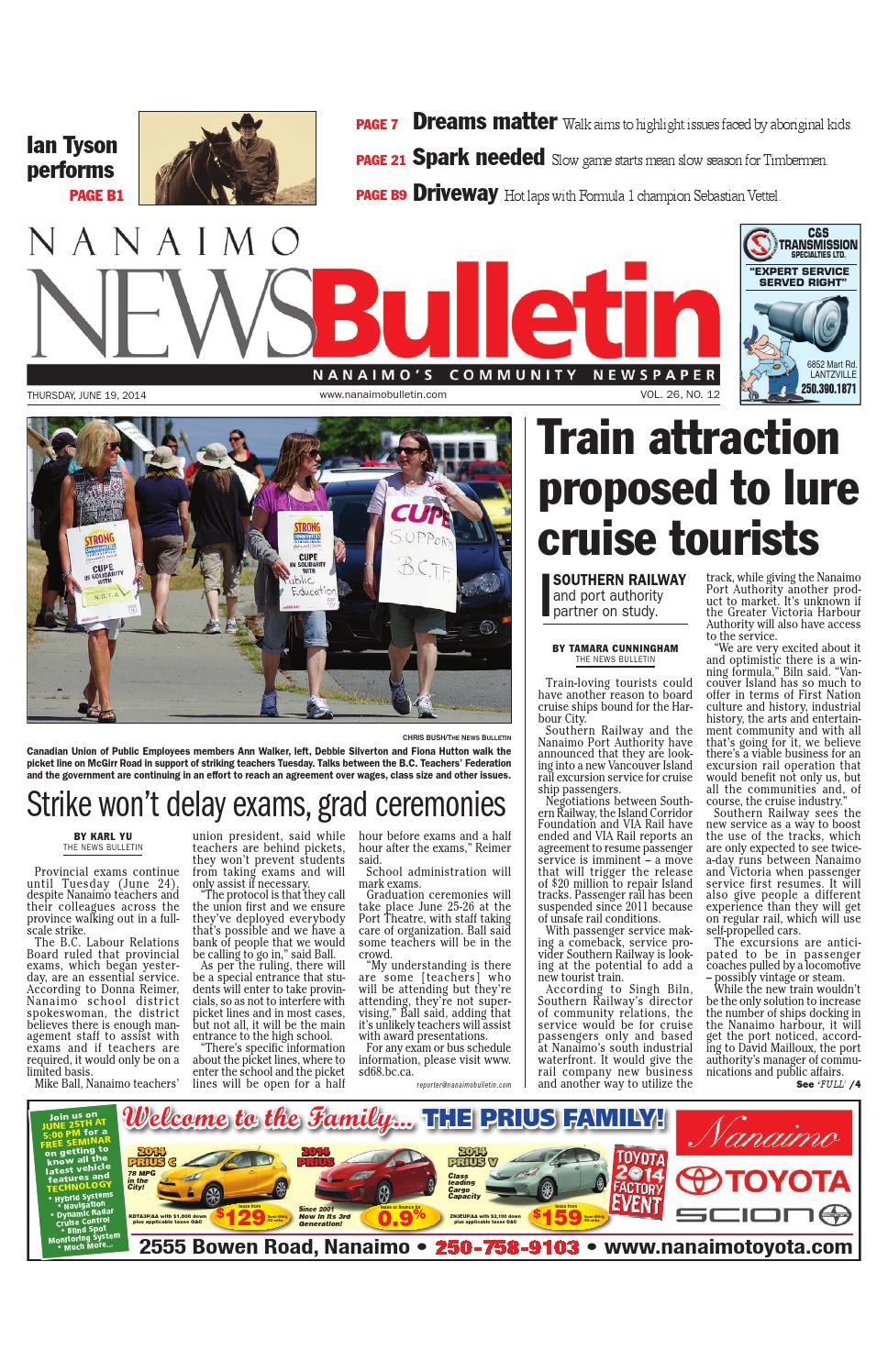 Bathmaster Nanaimo nanaimo news bulletin, june 19, 2014black press - issuu