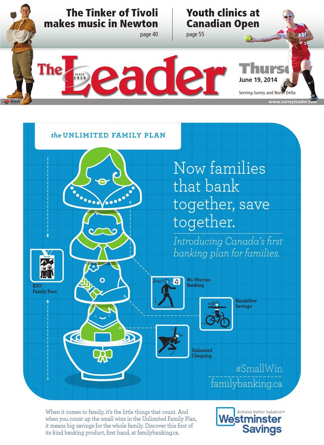 Surrey North Delta Leader, June 19, 2014 by Black Press - issuu