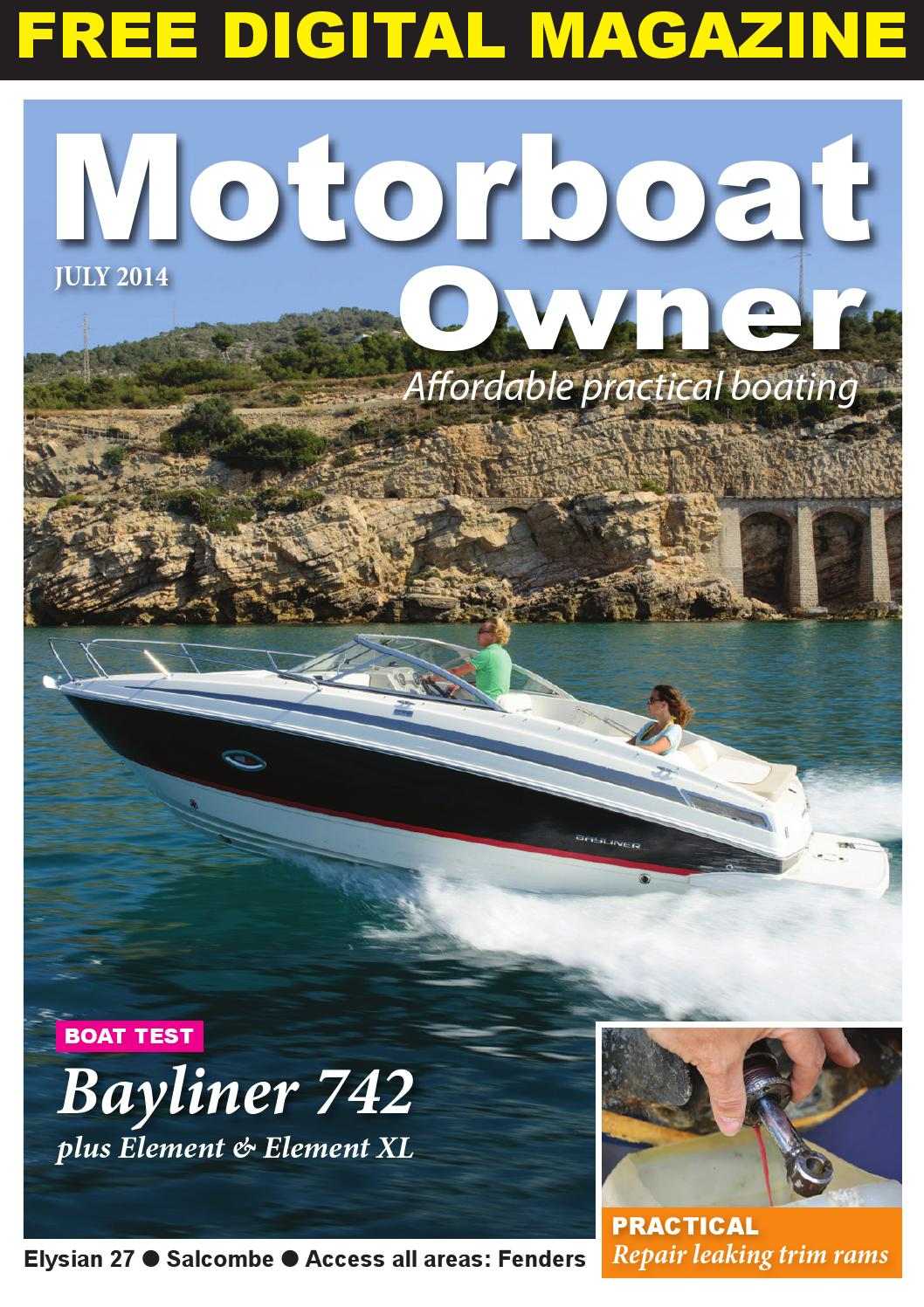 Motorboat Owner July 14 by Digital Marine Media Ltd - issuu