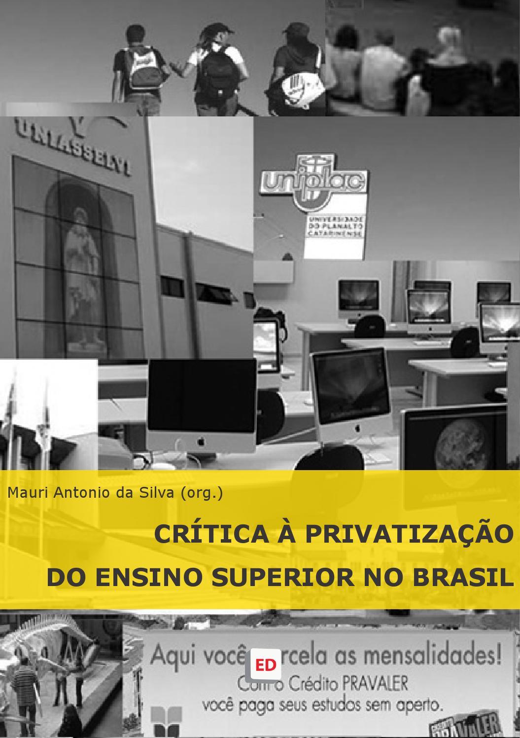 Crítica à privatização do Ensino Superior no Brasil by editoria emdebate -  issuu 5444da1646