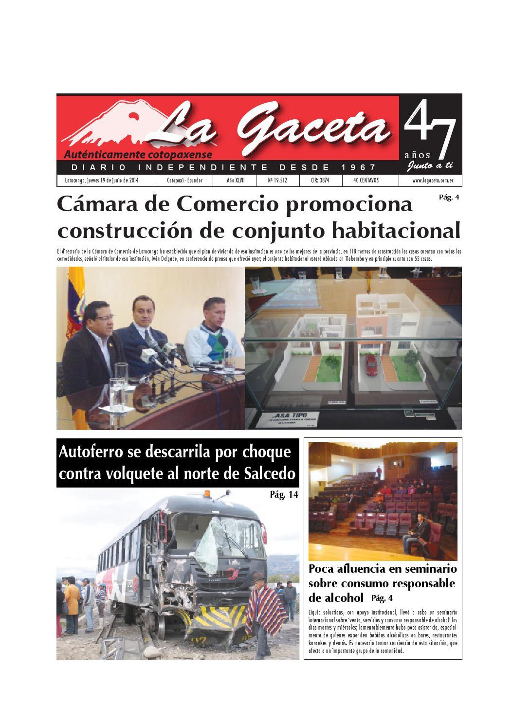 La Gaceta 19 junio 2014 by Diario La Gaceta - issuu