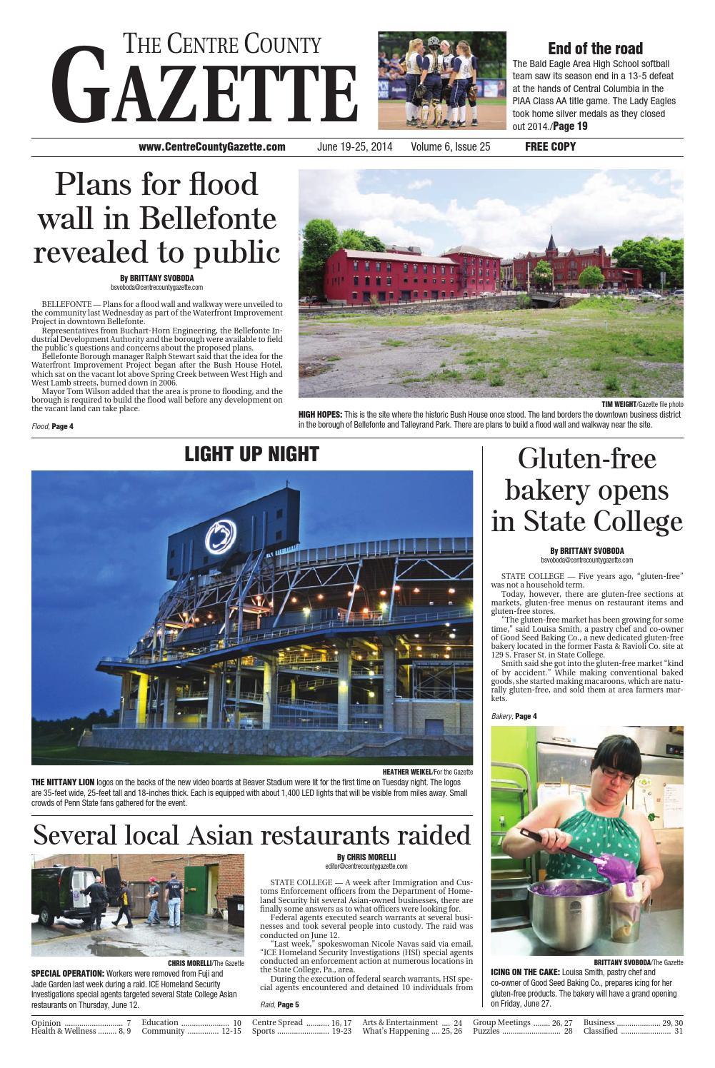 2ba4fedf61 6 19 14 centre county gazette by Centre County Gazette - issuu