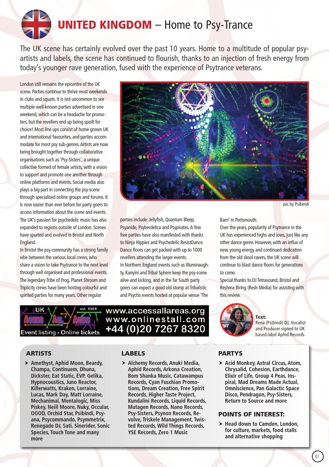 Trancers Guide To The Galaxy 2014 by mushroom magazine - issuu
