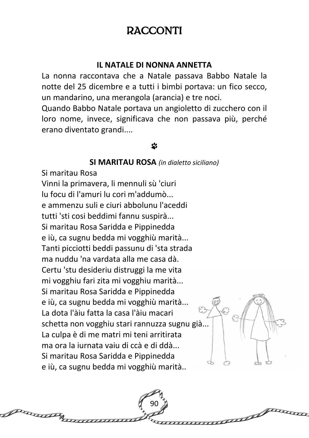 Poesie Di Natale In Dialetto Siciliano Per Bambini.I Nonni Raccontano By Cesvol Umbria Centro Servizi