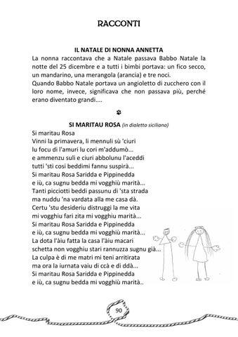 Poesie Di Natale In Dialetto Siciliano.I Nonni Raccontano By Cesvol Umbria Centro Servizi Volontariato Issuu