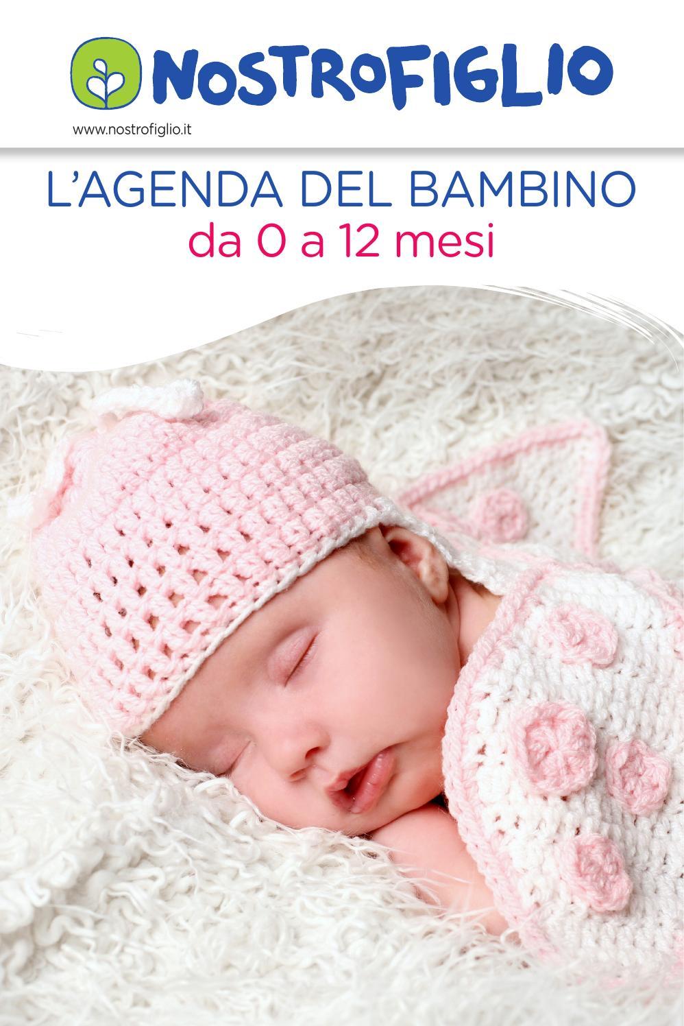 Quando Inizia A Gattonare Neonato agenda del neonato 0 12 mesi by nostrofiglio.it - issuu
