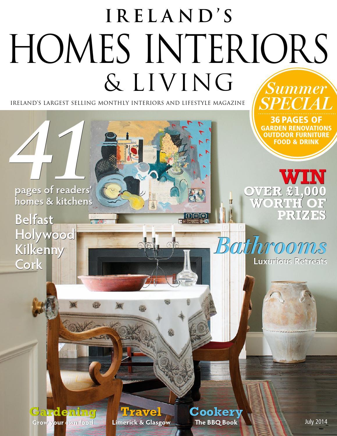 ireland s homes interiors living magazine july 2014 by davka issuu