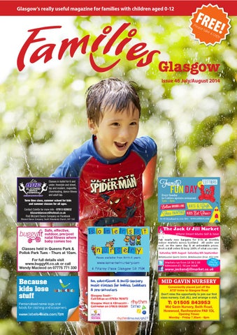 268bff4afcaf Families Glasgow July - Aug 2014 by Families Magazine - issuu