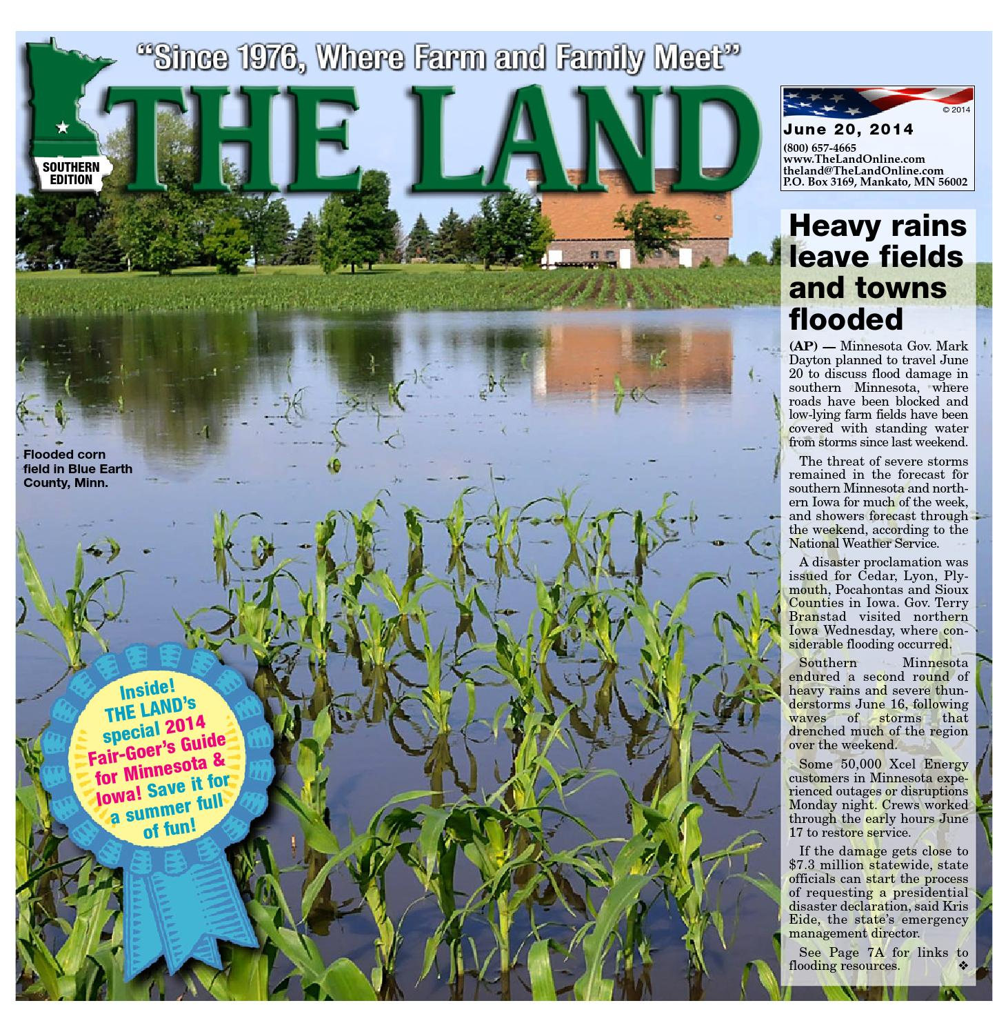 THE LAND ~ June 20, 2014 ~ Southern Edition by The Land - issuu Mack Mc P Engine Wiring Harness on
