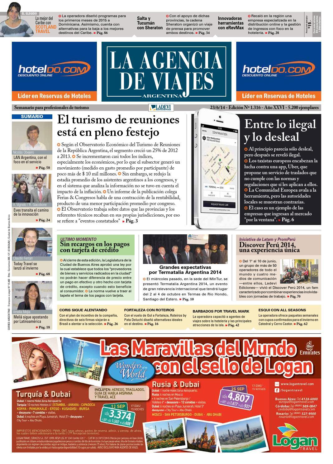 La Agencia de Viajes Argentina N° 1.316 by Ladevi Media & Solutions ...