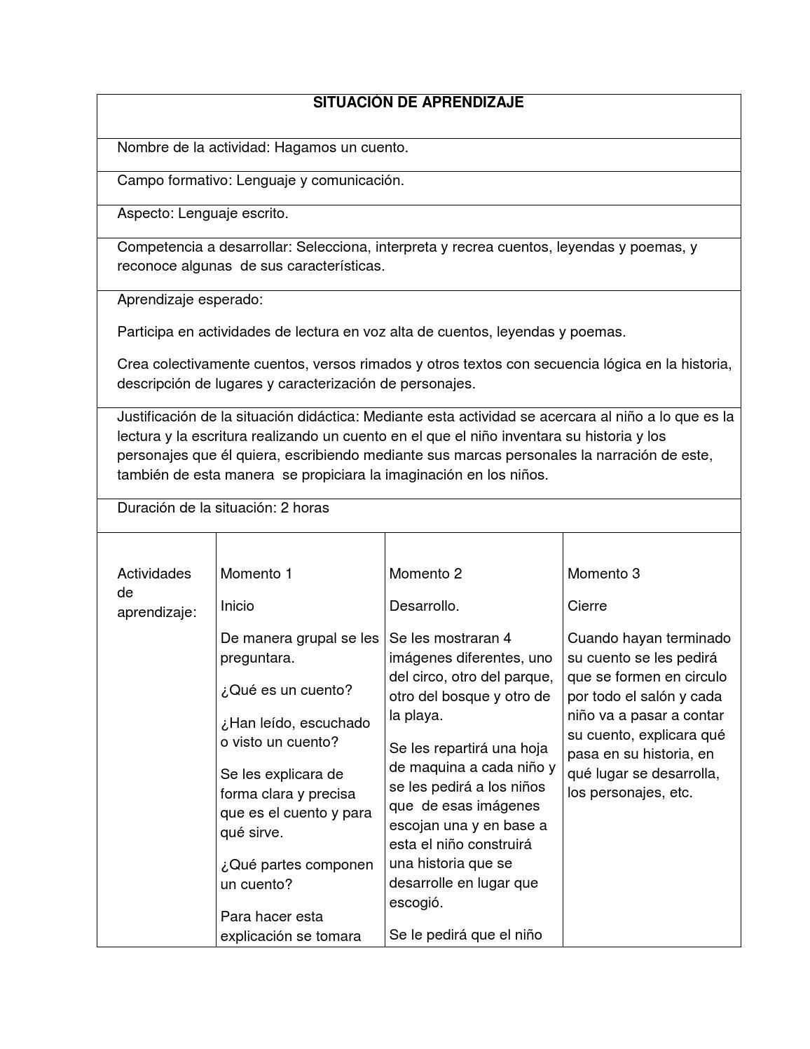 39b856504c Situación hagamos un cuento by Giovanna - issuu