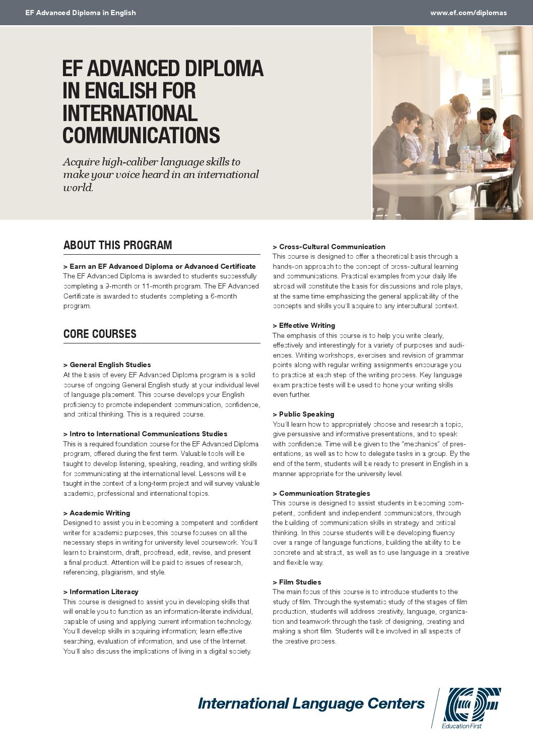 14ay ad international communications by EF Education First