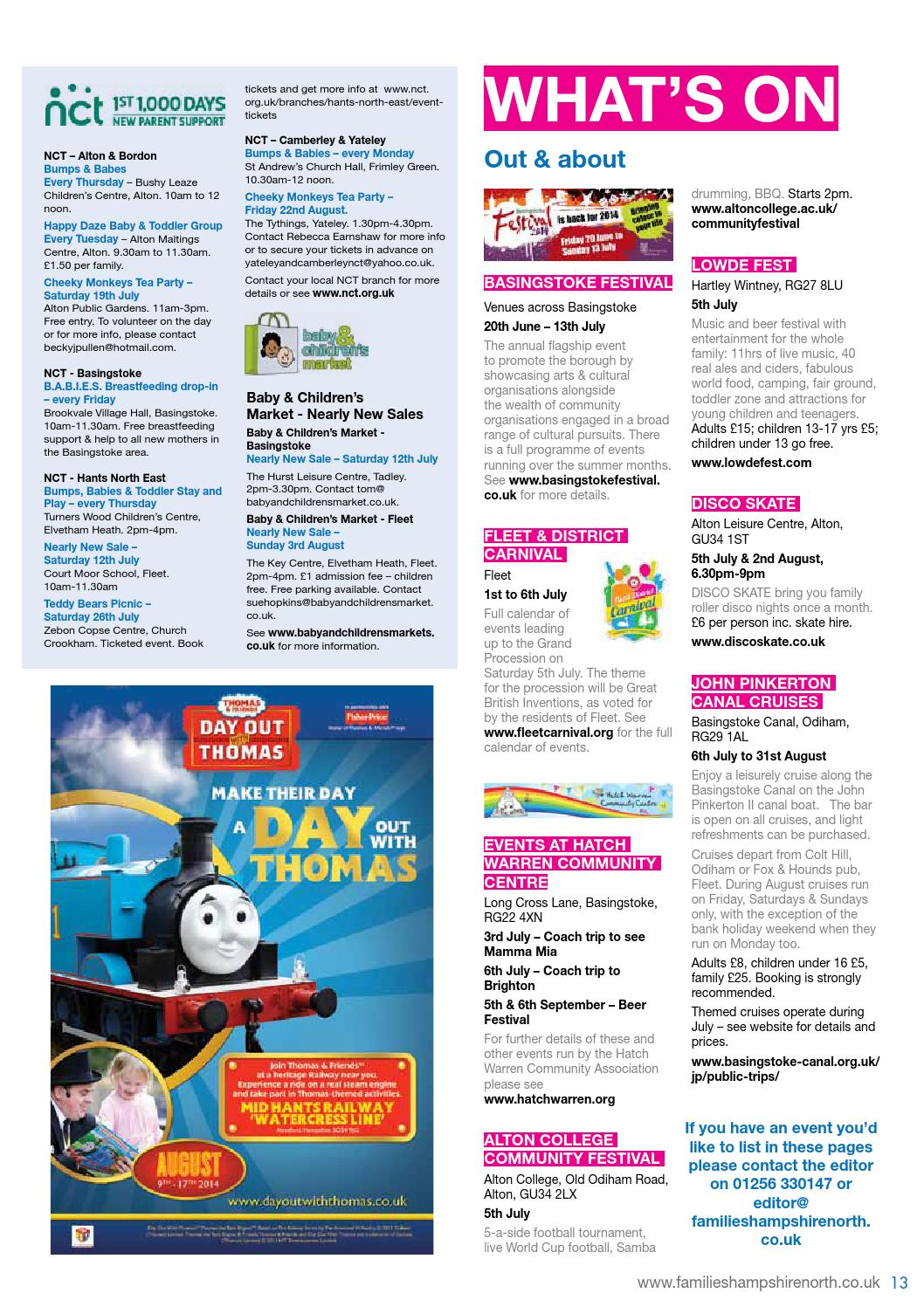 a84539842 Families Hampshire North July -August 2014 by Families Magazine - issuu