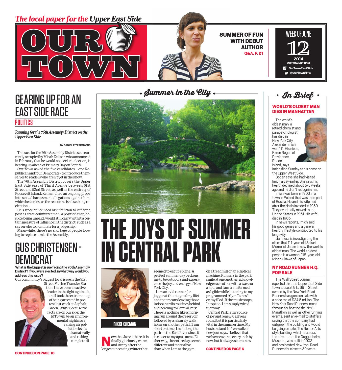 Our Town June 12th, 2014 by Our Town - issuu