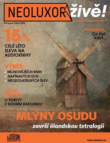 2b097bd7c573 Neoluxor živě! (6 7 2014) by Knihkupectví Luxor - issuu