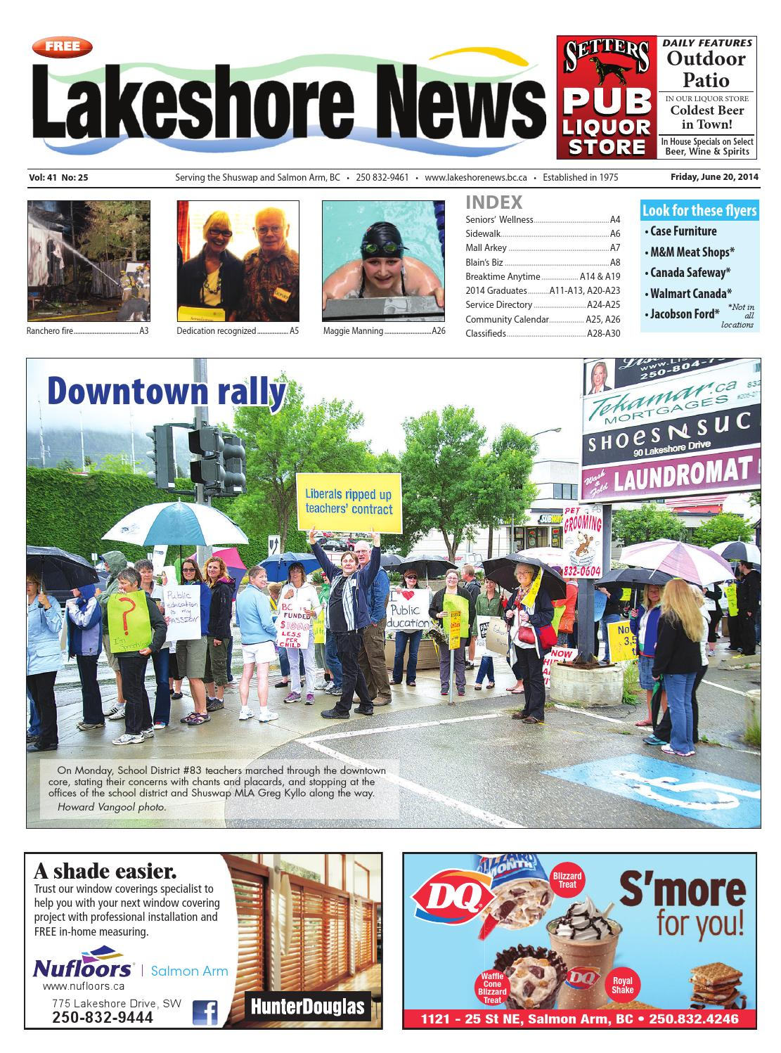 Lakeshore News June 20 2014 By Black Press Media Group