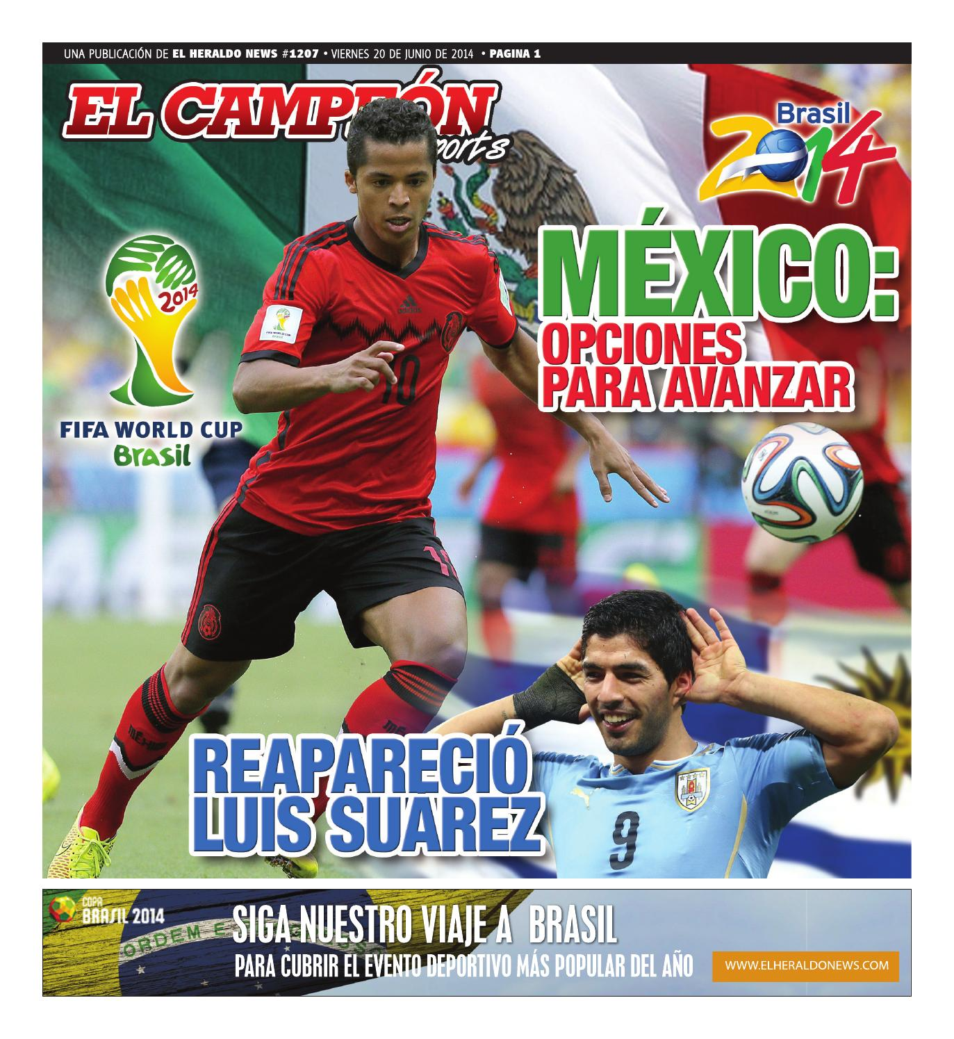 dbb7be25177fd Elcampeon jun20 2014 by El Heraldo News - issuu