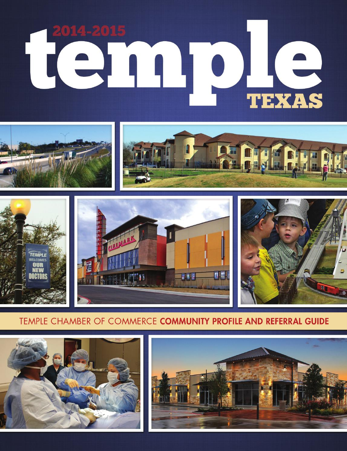 Temple, TX 2014 Community Profile and Referral Guide by
