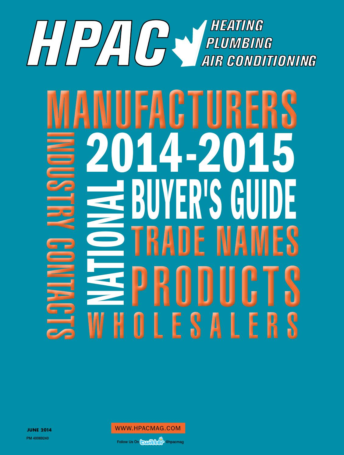 HPAC June 2014 Buyers Guide by Annex-Newcom LP - issuu