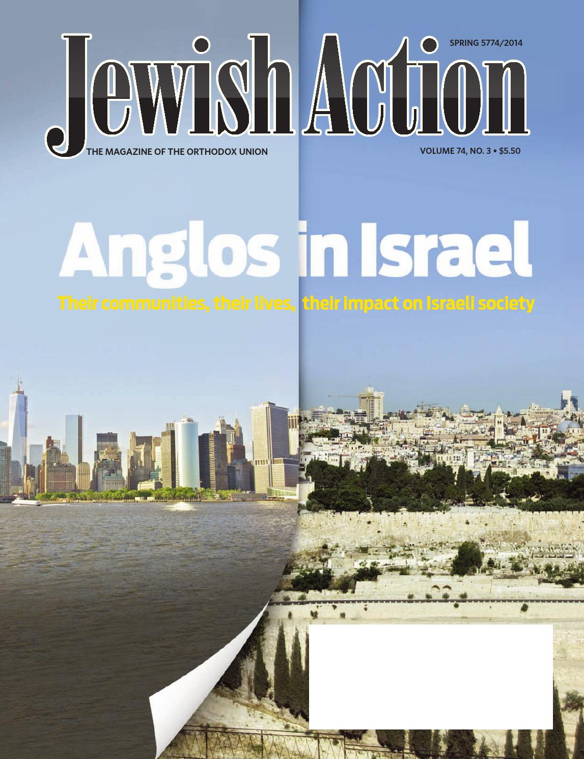 Jewish Action Spring 2014 by Orthodox
