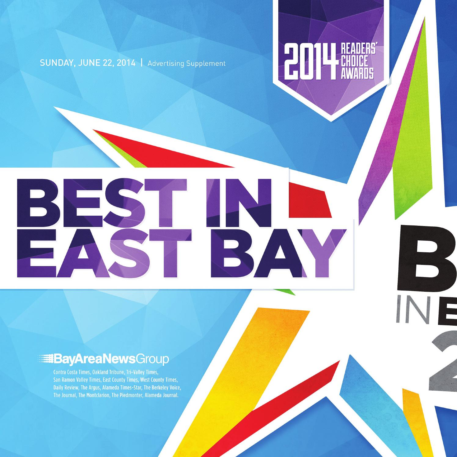 53ae0566963 Best In East Bay 2014 by MediaNews Group Targeted Products - issuu