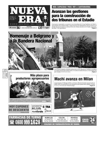 e8dc39fa1 Nueva era 2014 06 20 by Diario NUEVA ERA Tandil - issuu