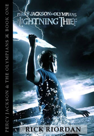 Percy Jackson And The Olympians 1 The Lightning Thief By