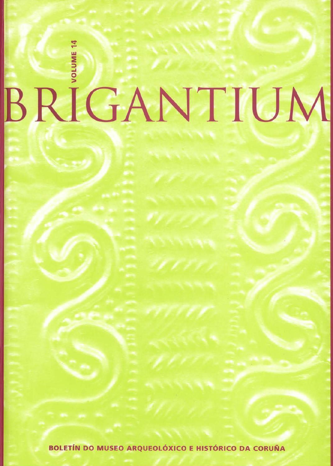 Brigantium14 By Museo Arqueol Xico E Hist Rico Da Coru A Non  # Muebles Boqueixon