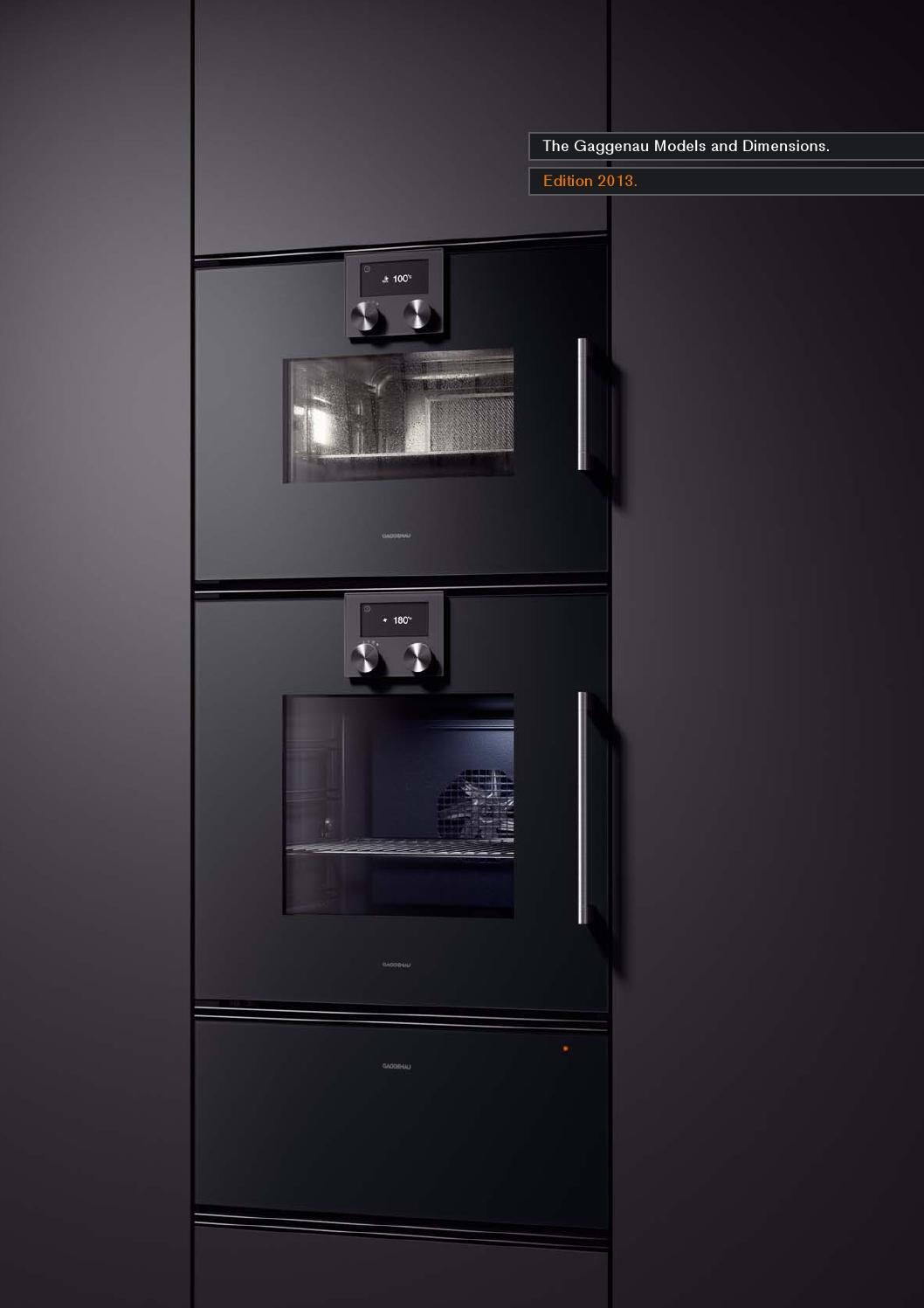 gaggenau models dimensions 2013 by kitchen appliances. Black Bedroom Furniture Sets. Home Design Ideas