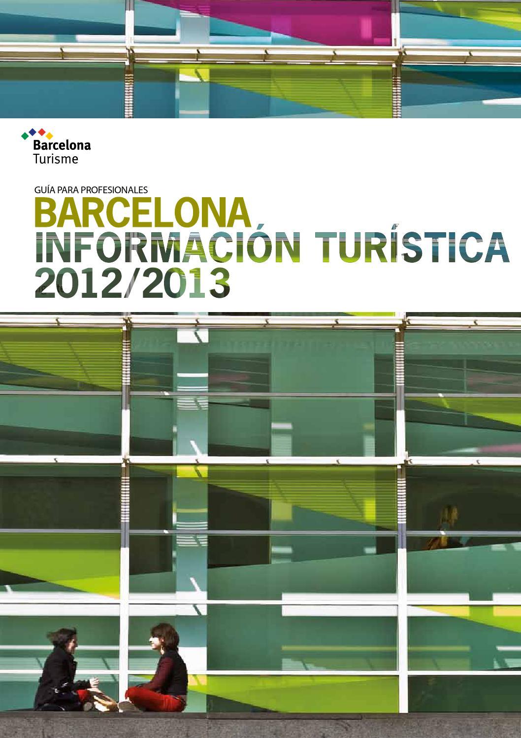 0fc520156e88 BARCELONA INFORMACIÓN TURÍSTICA 2012-2013 by Visitasparati - issuu