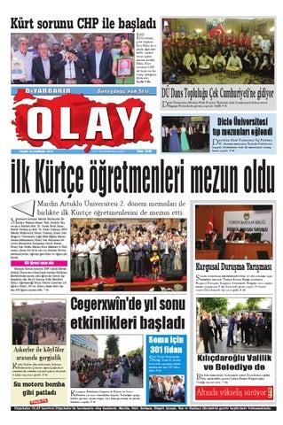 22 06 2014 Gazete Sayfalari By Diyarbakir Olaygazetesi Issuu