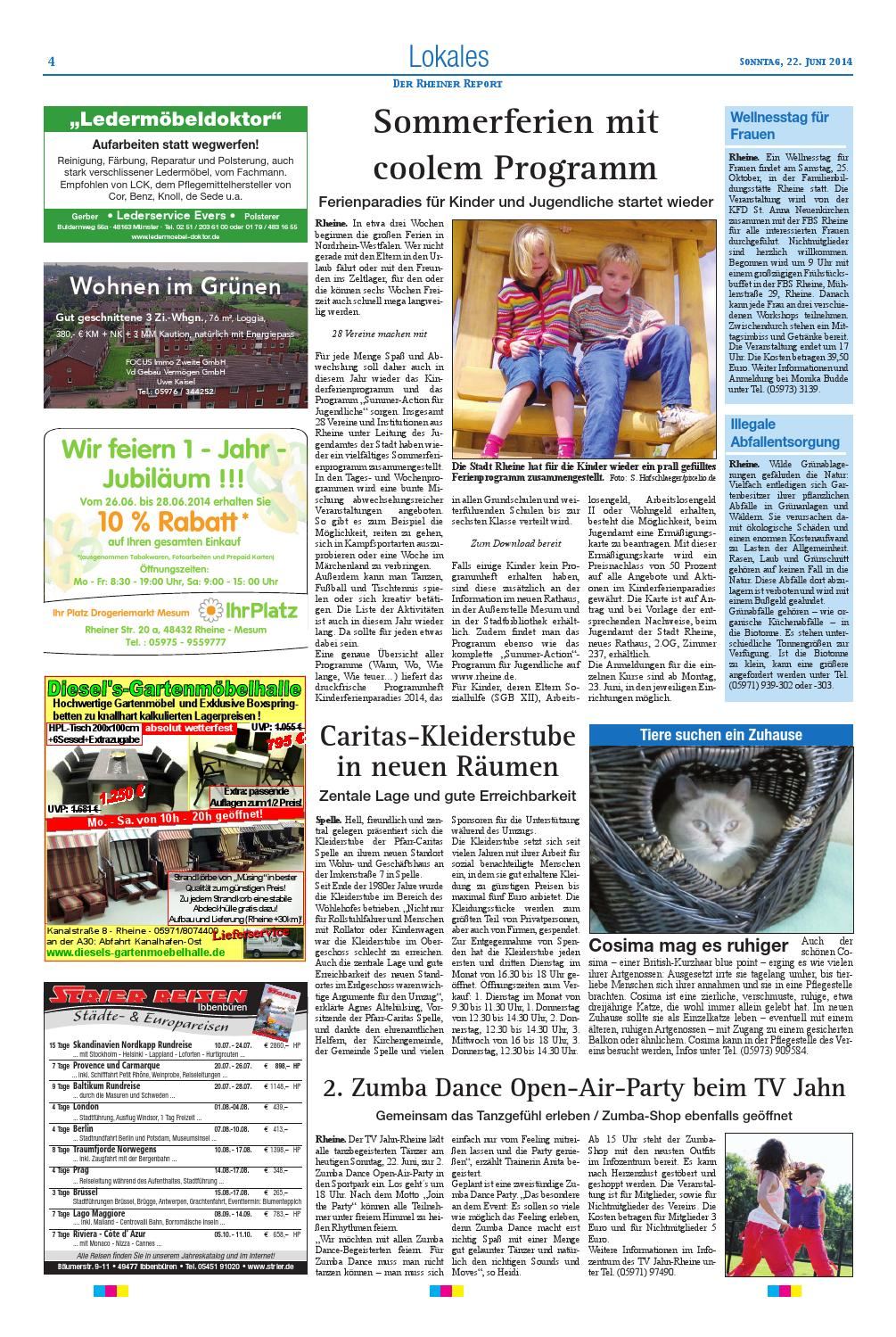 Kw25 2014 By Rheiner Report Gmbh Issuu